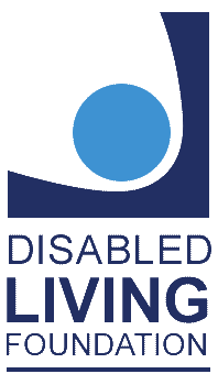 An image of the disabled living foundation logo