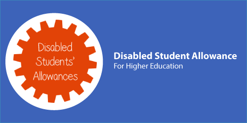 An image of the Disabled Students Allowances logo