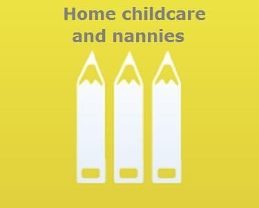 home childcare and nannies icon