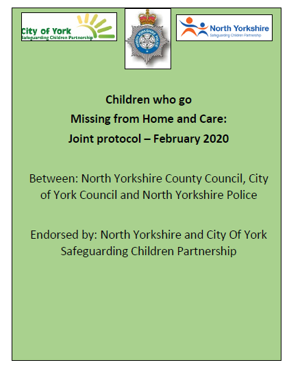 Children who go missing from home and care joint protocol