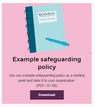 Writing a safeguarding policy download