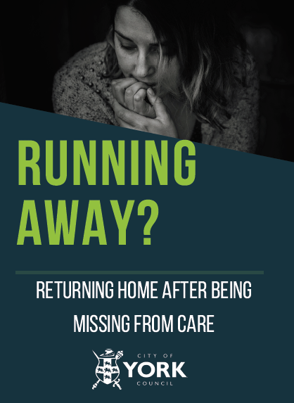 returning home after being missing from care leaflet