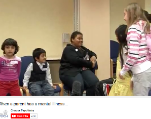 Young carers experiences of parental mental health video