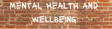 wall mental health and wellbeing