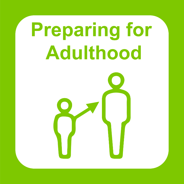 Preparing for Adulthood icon