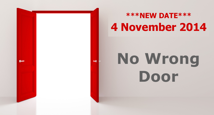 No Wrong Doors - Save the Date