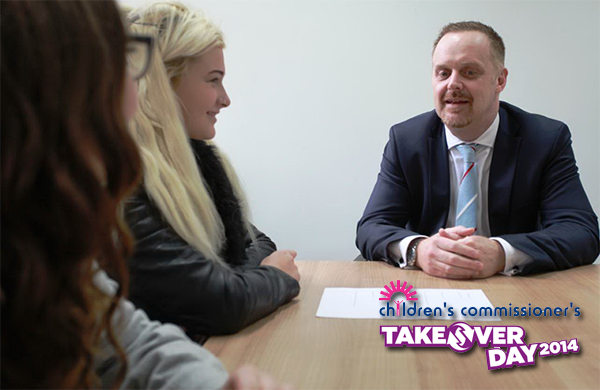 Jon Stonehouse interviewed for Take Over Week